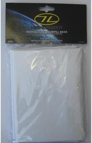 Bivvy Loo Portable Toilet Liner Bags Camping Toilet Bags 40 Biodegradable NEW