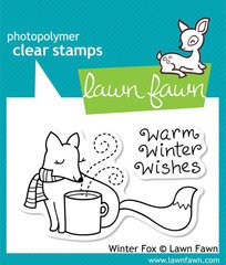 Winter Fox Clear Stamp Set (lawn Fawn)