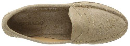 Sebago PLAZA B62443 - Mocasines de cuero para mujer beige - Beige (TAUPE)