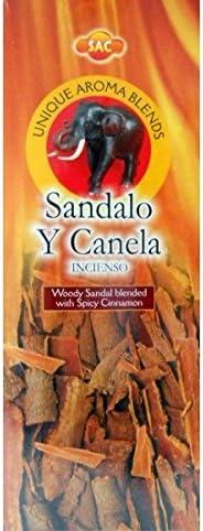 Incienso Sandalo y Canela - Set de 6 paquetes hexagonales