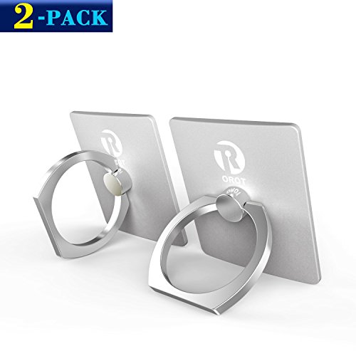 Cell Phone Holder, 2-Pack Orot Universal Smartphone Ring Gri