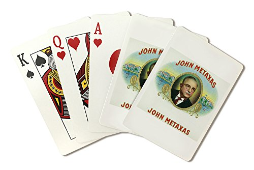 john-metaxas-brand-cigar-box-label-playing-card-deck-52-card-poker-size-with-jokers