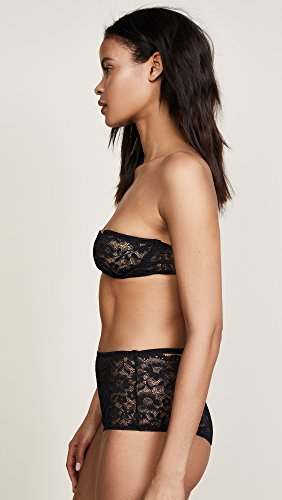 For Love & Lemons Women's Havana Demi Underwire Bra, Noir, Small by For Love & Lemons (Image #4)