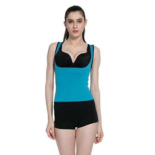 Queenral Neoprene Sweat Top Lose Weight Shapewear Corset hot shapers for Women