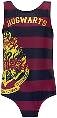 HARRY POTTER Girls Hogwarts Swimsuit