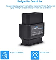 Veepeak OBDCheck BLE OBD2 Bluetooth Scanner Auto OBD II Diagnostic Scan  Tool for iOS & Android, Bluetooth 4 0 Car Check Engine Light Code Reader
