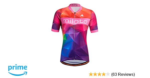 Amazon.com   Uriah Women s Cycling Jersey Short Sleeve Reflective   Sports    Outdoors 55148d8a0