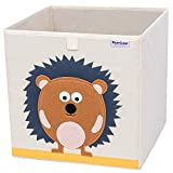 Hurricane Munchkin Collapsible Toy Storage Box | Cube Bin Organizer for Children Toys