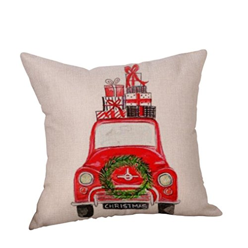Costume Player 18 (Pattern Christmas Car Decorative Pillowcases,Square 18