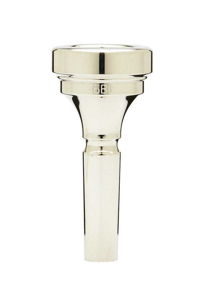 Denis Wick DW5880-6BL Silver-Plated Large Bore Trombone Mouthpiece 99857