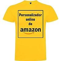 Camiseta Personalizable · Hombre · Manga Corta · 100% Algodón · Impresión Directa (DTG) Impresión · ¡No es un Vinilo…