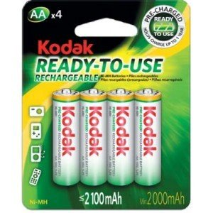 ready use aa rechargeable batteries