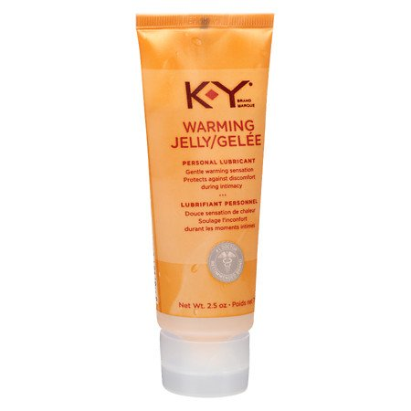 K-Y Warming Jelly Personal Lubricant - 3PC