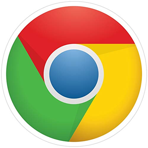 Big Lens store Google Chrome Stickers (3 Pcs/Pack) (Best Editor For Haskell)