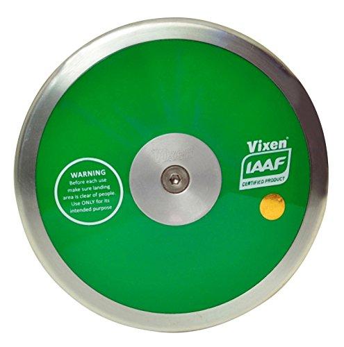 VIXEN Practice Discus Green Colour, Throw Sporting Goods