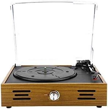 Vitrola de Mesa Perkins Retro com Tampa de Acrílico 5W BT/AUX/USB Bivolt Pulse - SP365