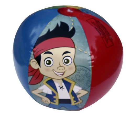 Disney Beach Ball - Jake and the Neverland (Jake And The Neverland Pirates Ball)
