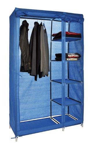 Textil Kleiderschrank, Kleideraufbewahrung, Schrank mit 5 ...