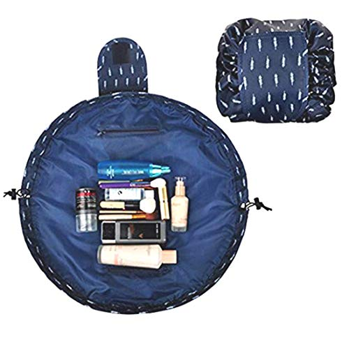 PACKNBUY Cosmetic Makeup Foldable Travel Storage Bag Pouch