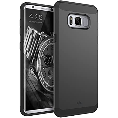 Galaxy S8 Case, LK [Gladiator Series] Shock Absorption Hybrid Armor Defender Protective Case Cover for Samsung Galaxy S8 (Black) Sales