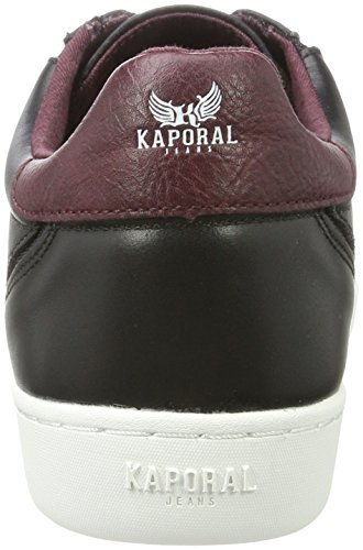 Kaporal Noir Homme Baskets Noir Basses Kaiser RxBRwHrqp