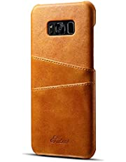 Elehome Slim PU Leather Back Case for iPhone and Samsung