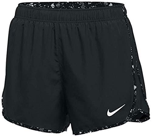 Nike Womens Dry Tempo Running Short (Small)Black
