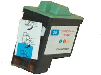 Cartuchos de tinta color equivalente a 26 compatible con modelos ...