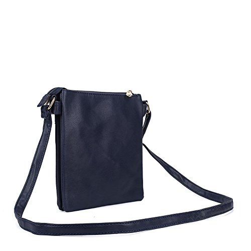 Navy Women Sally High Bag Bags Quality Body Young Nice Cross Leather Fashion Pu E6Hq7xr6w