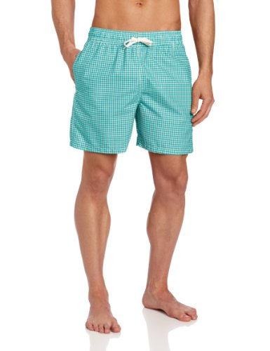 Trunks Swim Men - Kanu Surf Men's Monaco Swim Trunk, Green, Medium