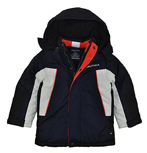 Nautica Little Boys' Snorkle PCD Jacket, Navy, 2T