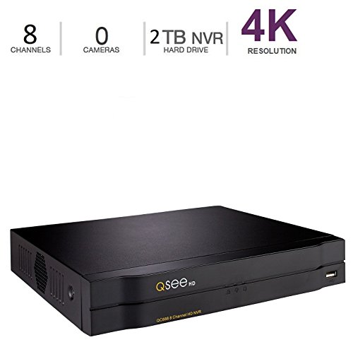 Q-See QC888-2, 8-Channel 4MP HD IP NVR with 2TB Hard Drive, Network Surveillance Recorder