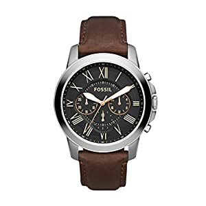 Fossil Men's Analogue Black Dial Watch
