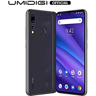 "UMIDIGI A5 Pro Unlocked Mobile Phones SIM Free Dual 4G Smartphone 16MP+8MP+5MP Camera Smartphones 4150mAh Battery 6.3"" FHD+ 32GB ROM 4GB RAM Android 9 Pie (Grey)"