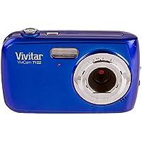 Vivitar 7122BL ViviCam 7 MP Camera with 1.8-Inch LCD, Blue