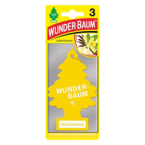 Wunderbaum 171205 Vanillaroma, 3-er Pack