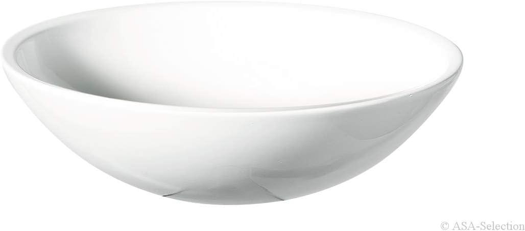 wei/ß gl/änzend ASA 5041147 Grande Schale Keramik /Ø 25 cm