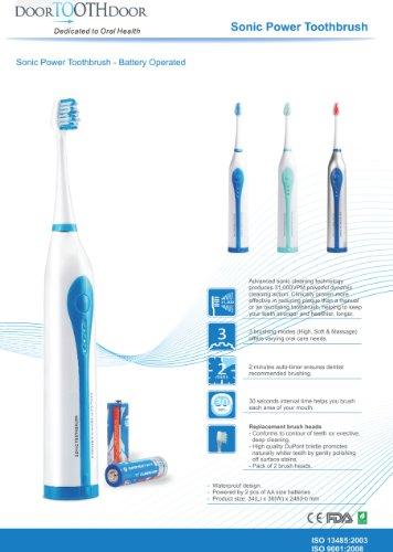 Sonic Brosse à dents électrique