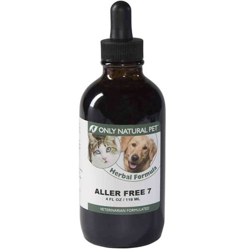 Only Natural Pet Aller-Free 7 Herbal Formula 4 oz by Only Natural Pet