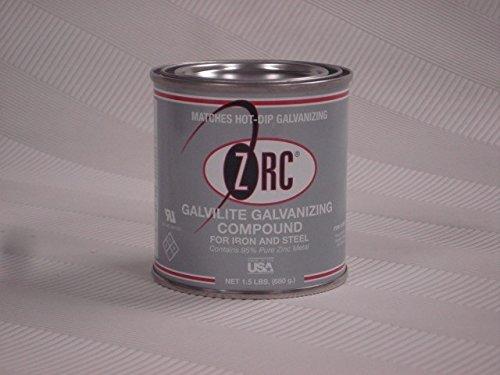 ZRC Galvilite Galvanizing Compound 95% Zinc 1/2 pint