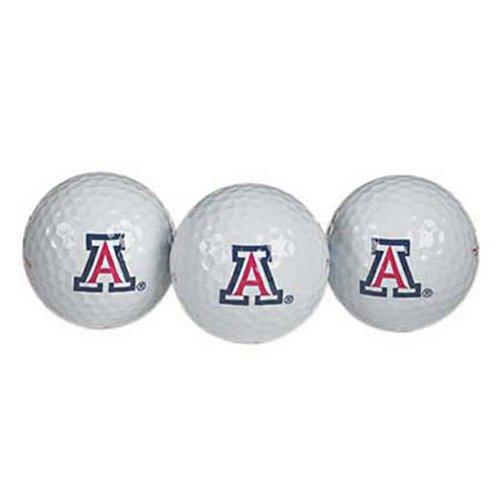 Team Effort Arizona Wildcats Golf Ball 3 Pack by Team Effort