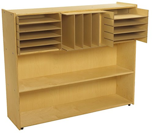 Childcraft 1526311 ABC Furnishings Sectional Inserts for 3-Cubby Storage Unit, 6