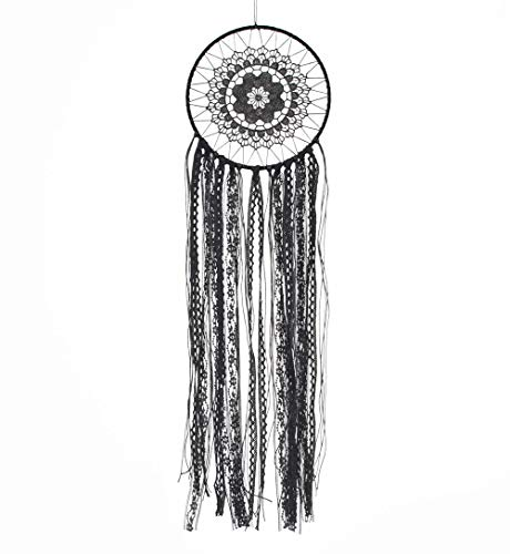 Large Black Dream Catcher 8