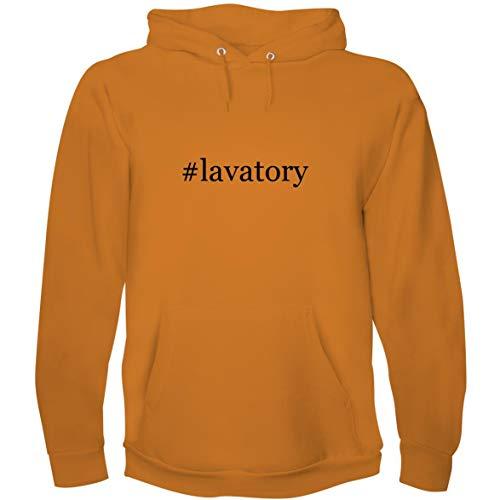 The Town Butler #Lavatory - Men's Hoodie Sweatshirt, Gold, XX-Large ()