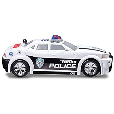 Tonka Mighty Motorized Police Cruiser Toy Vehicle: Toys & Games