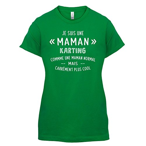 une maman normal karting - Femme T-Shirt - Vert - XL