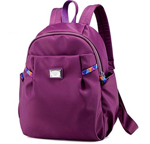 Damas bandoleras,mochilas,bolsa de viaje-Azul Púrpura