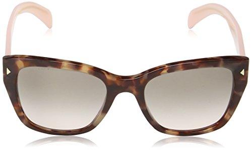 Prada Sonnenbrille (PR 09SS) Spotted Brown / Pink