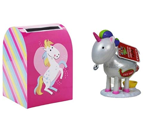 Valentine's Day Mailbox Unicorn Style And Pooping Unicorn Candy ()