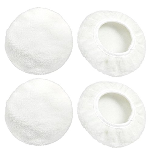 (Y-Luck Car Polisher Bonnet Car Polisher Cover Max Waxer Pads Polishing Pad Sets for Most Car Polishers (fit 9